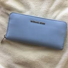 michael kors light blue wallet michael michael kors handbags michael kors light sky blue wallet
