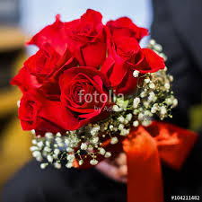 wedding flowers groom wedding flowers groom holds bouquet roses bouquet of roses