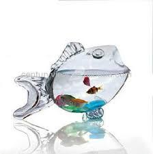 high quality home decor glass fish shaped bowl buy glass fish