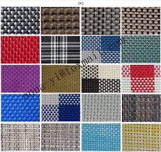 Patio Chair Mesh Replacement Chair Fabric Replacement 2x2 Woven Pvc Coated Mesh Fabric