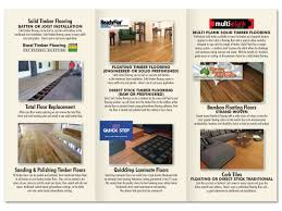 Coating For Laminate Flooring Professional Upmarket Brochure Design For Aaa Professional Floors