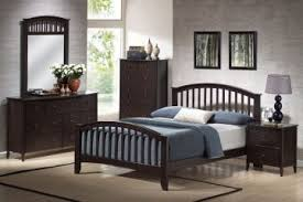 san marino bedroom collection san marino queen slat bedroom set in espresso