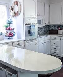 what type of paint to use on formica cabinets how my painted countertops look after 3 years of use