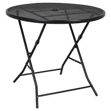 target folding patio table 32 metal mesh folding patio table threshold target