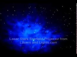 Projector Stars On Ceiling by Laser Stars Starfield Projector Demonstration Video Youtube
