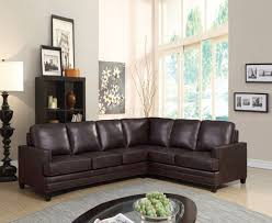 sofa match bevin sectional sofa w sleeper 53380 in espresso leather match