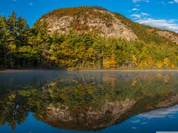 curme islands wallpapers echo lake white mountains new hampshire 4k hd desktop