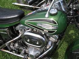 original paintantique and vintage harley davidsons 1966 1978 green