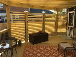 Pergola With Movable Louvers louvered deck railings with partial privacy by matthew from