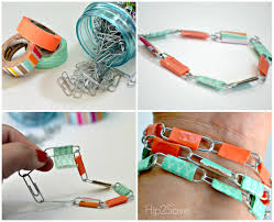 How To Make Jewelry Beads At Home - paper clip jewelry fun summer break craft u2013 hip2save