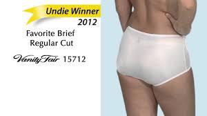 Vanity Fair Cotton Briefs 2012 Undie Awards Winner Regular Cut Brief Youtube