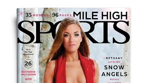 had a blast shooting this years mile high sports magazine snow