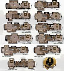 big floor plans 2011 keystone montana fifth wheel floorplans large picture