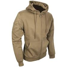 viper tactical hoodie zipped coyote sweatshirts military 1st