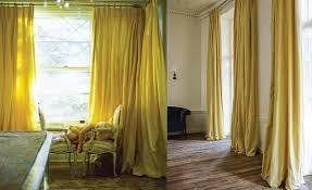 mustard yellow silk taffeta glamorous and trendy