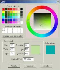 paint herraminetas de color
