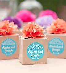 personalized wedding favor boxes best 25 wedding favor boxes ideas on pink macaron