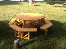 exteriors 2x4 picnic table kids hexagon picnic table recycled