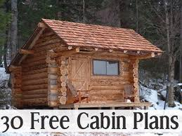 free small cabin plans 30 free cabin plans for diy ers cabin 30th and big