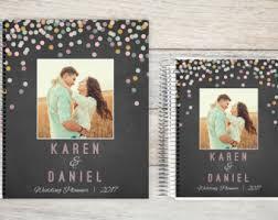 custom wedding planner wedding planner etsy