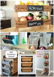 Kitchen Storage Ideas Diy 21 Diy Fruit And Veggie Storage Ideas