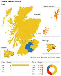 Uk Election Map by Election Results Mapping Scotland U0027s Dramatic Change Bbc News