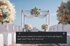 wedding quotes reddit a reddit user asked if anyone had through with a marriage