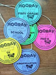 day necklaces free day of school necklaces editable teach junkie