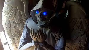 convulsing nurse spirit halloween cemetery angel prop youtube