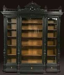 this magnificent victorian library bookcase is a work of both