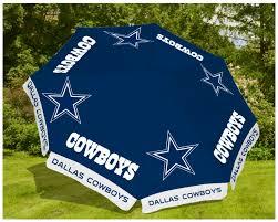 Dallas Cowboys Table Wholesale Bulk Dropshipper 9ft Market Patio Umbrella Dallas