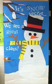 Classroom Door Christmas Decorations 276 Best Decorative Classroom Doors Images On Pinterest