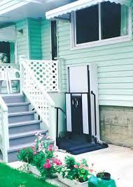 wheel chair porch lift bruno wheel chair lifts vertical wheel