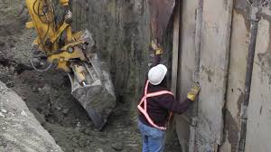 excavation shoring live demo youtube