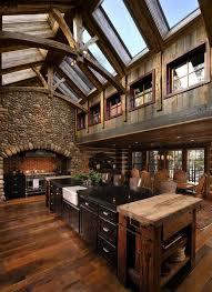 Wood Kitchen Ideas Kitchen Deluxe Rustic Kitchen Ideas With L Shape Wood Kitchen