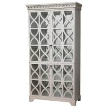 White Glass Cabinet Elisabeth Glass Cabinet Olystudio Com