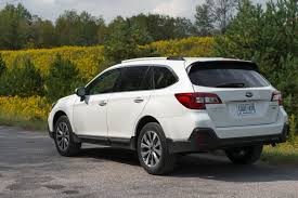 2017 subaru outback 2 5i limited 2018 subaru outback review first drive a refresh with major updates