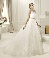 one shoulder wedding dress pronovias 2013 one shoulder wedding dress diosa model recent