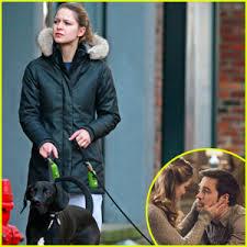 Melissa Benoist Walks Her      Supergirl      Co Star Chris Wood     s Dog in     Just Jared Jr  Melissa Benoist Walks Her      Supergirl      Co Star Chris Wood     s Dog in Vancouver