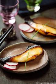 208 Likes 3 Comments Nobu Miso Cod Black Cod With Miso 銀鱈の西京焼き Just One Cookbook
