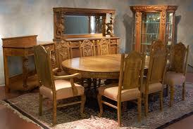 Oak Dining Room Set R J Horner 12 Piece Oak Dining Room Set