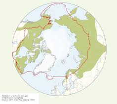 Northern Hemisphere Map Caff Map No 30 Distribution Of Wolverine In The Northern