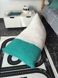 knit bean bag chair kids teen bean bag lounge floor