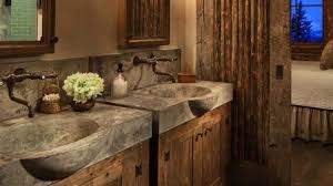 rustic bathroom design endearing rustic bathroom decor ideas pictures tips from hgtv on
