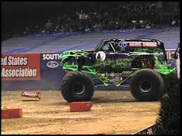 monster truck racing association monster jam grave digger monster truck 30th anniversary bouncing