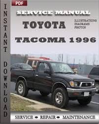 2013 toyota tacoma service schedule toyota tacoma 1996 service manual repair service manual pdf