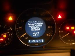 resetting battery gauge battery protection convenience functions temporarily unavailable