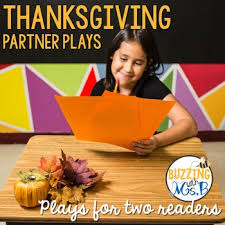 thanksgiving reader s theater partner plays for two readers by