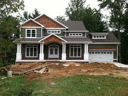 Craftsman Style Home Turn The Garage To The Side | craftsman style home turn the garage to the side change the