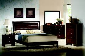 bedroom astonishing rich cherry wood queen panel of low profile